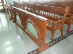 Bangku Jati Gereja Klasik