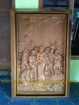 Relief Perjalanan Salib Gereja
