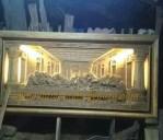 Relief Perjamuan Suci Kudus Sinar Lampu