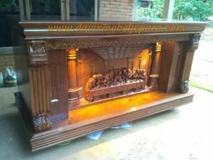 meja altar gereja catholic katolik davin mebel jepara