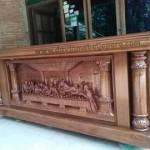 Interior Gereja Katholik Meja Altar Terbaru