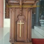 Jual Mimbar Gereja Kayu jati