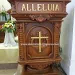 Mimbar Alleluia Gereja katolik