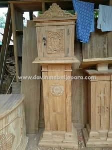 tabernakel kayu jati gereja katholik