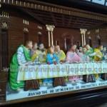 Lukisan Ukiran Relief Perjamuan Kudus
