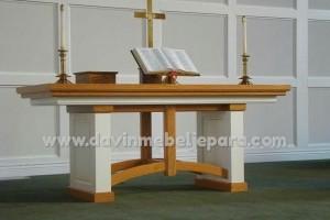 Meja Altar Gereja Kristen Protestan Model Minimalis