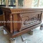 Meja Altar Gereja Katolik Punggur Lampung Tengah