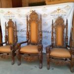 Set Kursi Imam Gereja Katholik Toraja