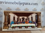 Model Ukiran Relief Perjamuan Kudus