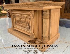 Meja Altar Davin Mebel Jepara 1