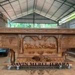 Meja Altar Gereja Merauke Ukiran Motif Merauke Dan Papua