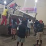 Kursi Bangku Gereja GKI ELIM SEMBARO Papua Barat